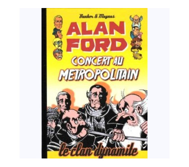 ALAN FORD Tome 5 : CONCERT...