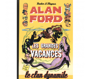 ALAN FORD Tome 7 : LES...